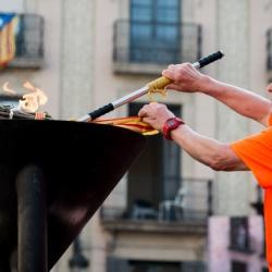 50 anys de la Flama del Canigó a Barcelona
